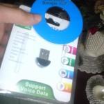 Mini USB Bluetooth Dongle con su mini CD