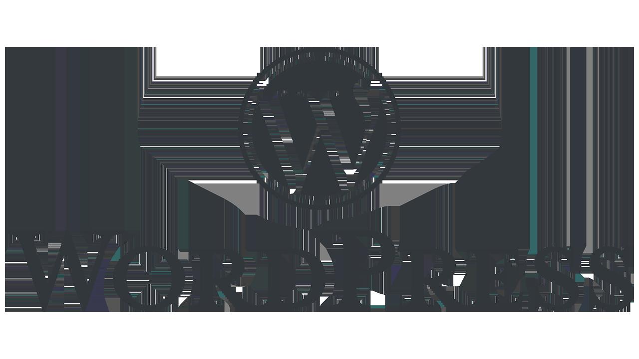 Logo Wordpress en fondo gris