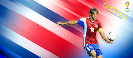 Copa Mundial Brasil 2014 - Costa Rica - Bryan Ruiz