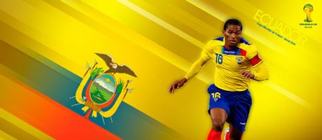 Copa Mundial Brasil 2014 - Ecuador - Antonio Valencia