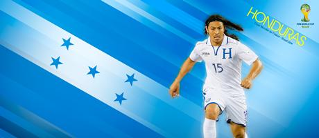 Wallpaper Copa Muncial de Futbol Brasil 2014 - Honduras - Roger Espinoza