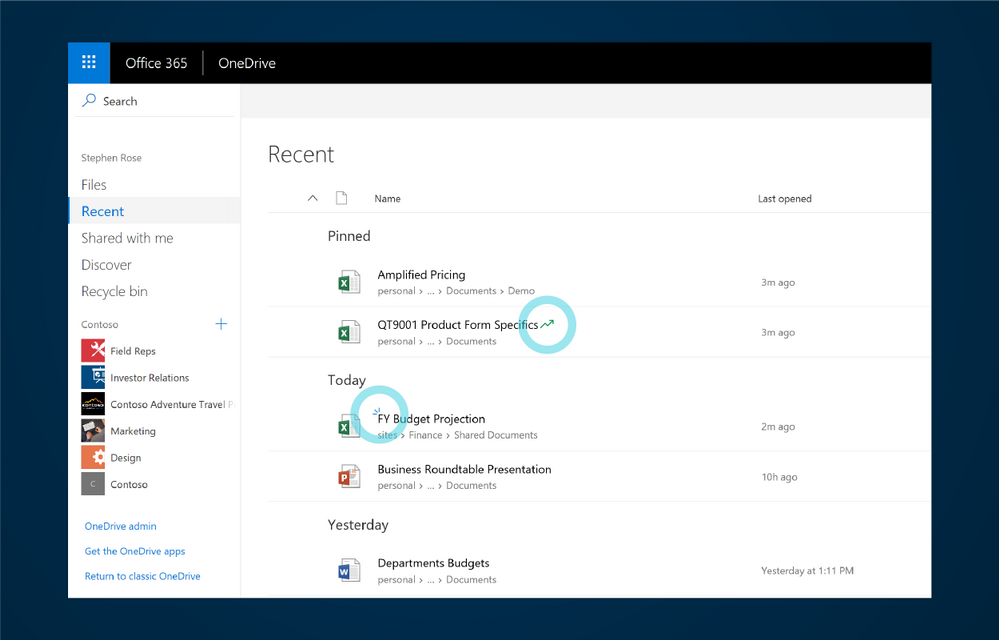OneDrive - Archivos populares y nuevas contribuciones