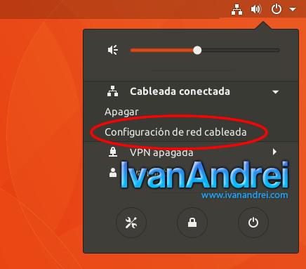 Ubuntu - Configuración de red cableada