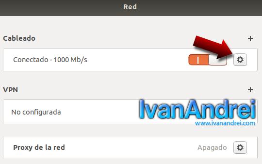 Ubuntu - Configuración de red
