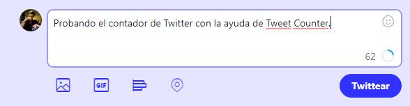 Como mostrar el contador de caracteres en Twitter (Tweet Counter)