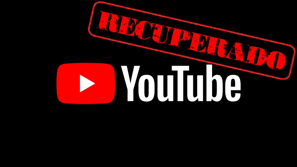 Como recuperar una cuenta suspendida de YouTube