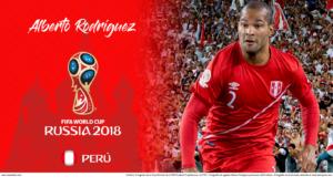 Wallpaper de Alberto Rodríguez de Perú en la Copa Mundial de Rusia 2018 - Edición para Laptop (1366x768)