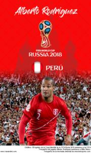 Wallpaper de Alberto Rodríguez de Perú para la Copa Mundial de la FIFA - Rusia 2018 - Edición para teléfonos con resolución 480x800