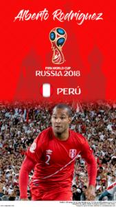 Wallpaper de Alberto Rodríguez de Perú para la Copa Mundial de la FIFA - Rusia 2018 - Edición para teléfonos HD (720x1280)