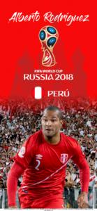 Wallpaper de Alberto Rodríguez de Perú para la Copa Mundial de la FIFA - Rusia 2018 - Edición para iPhone X (1125x2436)