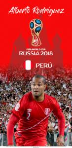 Wallpaper de Alberto Rodríguez de Perú para la Copa Mundial de la FIFA - Rusia 2018 - Edición para Samsung S9 (1440x2960)