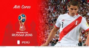 Wallpaper de Aldo Corzo de Perú para la Copa Mundial de la FIFA - Rusia 2018 - Edición para Laptop (1366x768)
