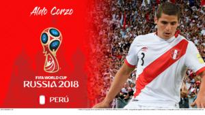 Wallpaper de Aldo Corzo de Perú para la Copa Mundial de la FIFA - Rusia 2018 - Edición para PC (1920x1080)