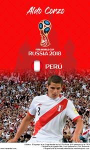 Wallpaper de Aldo Corzo de Perú para la Copa Mundial de la FIFA - Rusia 2018 - Edición para teléfonos con resolución 480x800