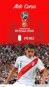 Wallpaper de Aldo Corzo de Perú para la Copa Mundial de la FIFA - Rusia 2018 - Edición para teléfonos HD (720x1280)