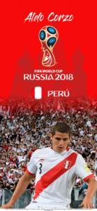 Wallpaper de Aldo Corzo de Perú para la Copa Mundial de la FIFA - Rusia 2018 - Edición para iPhone X (1125x2436)