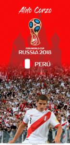 Wallpaper de Aldo Corzo de Perú para la Copa Mundial de la FIFA - Rusia 2018 - Edición para Samsung S9 (1440x2960)