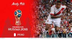 Wallpaper de Andy Polo de Perú para la Copa Mundial de la FIFA - Rusia 2018 - Edición para PC (1920x1080)