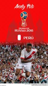 Wallpaper de Andy Polo de Perú para la Copa Mundial de la FIFA - Rusia 2018 - Edición para teléfonos HD (720x1280)
