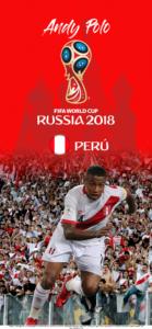Wallpaper de Andy Polo de Perú para la Copa Mundial de la FIFA - Rusia 2018 - Edición para iPhone X (1125x2436)