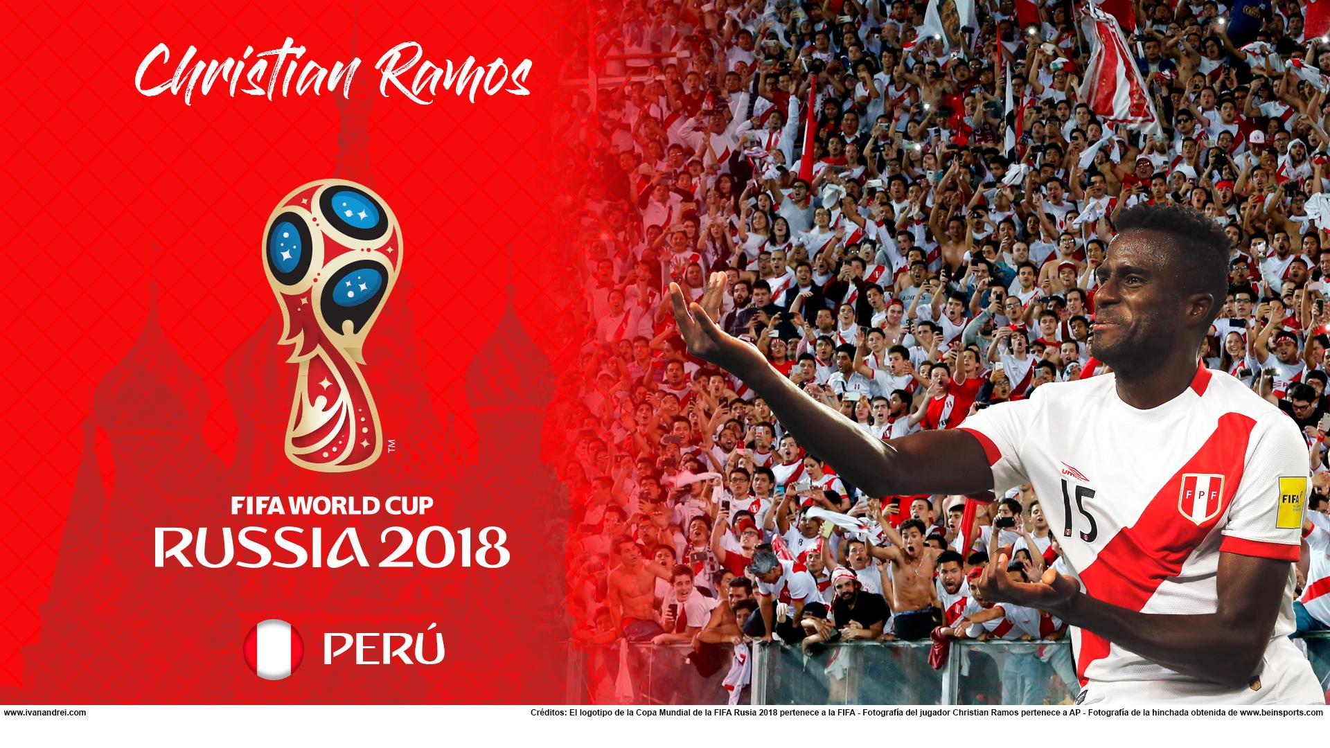 Wallpaper de Christian Ramos de Perú para la Copa Mundial de la FIFA - Rusia 2018 - Edición para PC (1920x1080)
