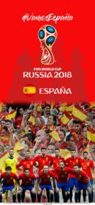 Wallpaper de la selección española de fútbol para la Copa Mundial de la FIFA - Rusia 2018 - Edición para iPhone X (1125x2436)