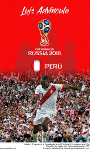 Wallpaper de Luis Advíncula de Perú para la Copa Mundial de la FIFA - Rusia 2018 - Edición para teléfonos con resolución 480x800