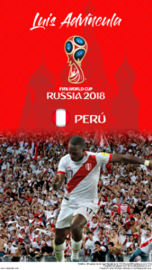 Wallpaper de Luis Advíncula de Perú para la Copa Mundial de la FIFA - Rusia 2018 - Edición para teléfonos HD (720x1280)
