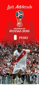 Wallpaper de Luis Advíncula de Perú para la Copa Mundial de la FIFA - Rusia 2018 - Edición para iPhone X (1125x2436)