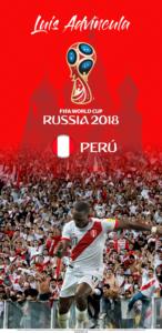 Wallpaper de Luis Advíncula de Perú para la Copa Mundial de la FIFA - Rusia 2018 - Edición para Samsung S9 (1440x2960)