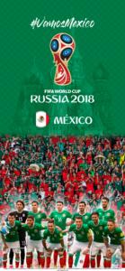 Wallpaper de la selección mexicana de fútbol para la Copa Mundial de la FIFA - Rusia 2018 - Edición para iPhone X (1125x2436)