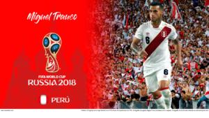 Wallpaper de Miguel Trauco de Perú en la Copa Mundial de Rusia 2018 - Edición para Laptop (1366x768)