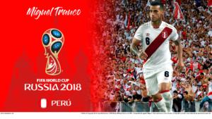 Wallpaper de Miguel Trauco de Perú para la Copa Mundial de la FIFA - Rusia 2018 - Edición para PC (1920x1080)