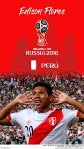 Wallpaper de Edison Flores de Perú para la Copa Mundial de la FIFA - Rusia 2018 - Edición para teléfonos HD (720x1280)