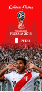 Wallpaper de Edison Flores de Perú para la Copa Mundial de la FIFA - Rusia 2018 - Edición para iPhone X (1125x2436)