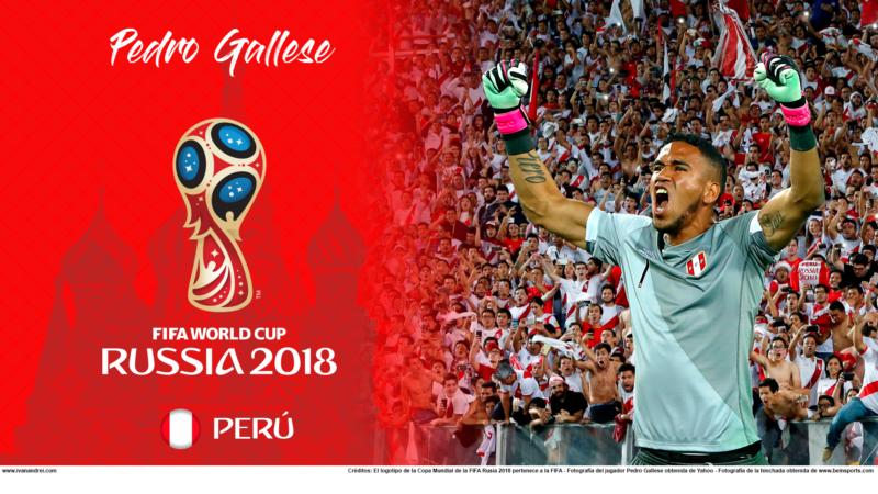Wallpaper De Perú (Pedro Gallese) En La Copa Mundial De