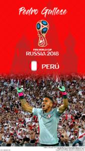 Wallpaper de Pedro Gallese de Perú para la Copa Mundial de la FIFA - Rusia 2018 - Edición para teléfonos HD (720x1280)