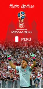 Wallpaper de Pedro Gallese de Perú para la Copa Mundial de la FIFA - Rusia 2018 - Edición para Samsung S9 (1440x2960)