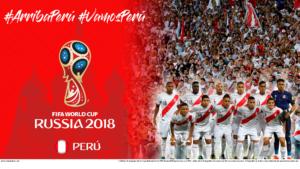 Wallpaper de la selección peruana de fútbol para la Copa Mundial de la FIFA - Rusia 2018 - Edición para PC (1920x1080)
