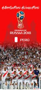 Wallpaper de la selección peruana de fútbol para la Copa Mundial de la FIFA - Rusia 2018 - Edición para iPhone X (1125x2436)