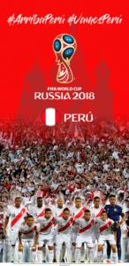 Wallpaper de la selección peruana de fútbol para la Copa Mundial de la FIFA - Rusia 2018 - Edición para Samsung S9 (1440x2960)