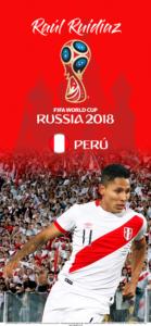 Wallpaper de Raúl Ruidíaz de Perú para la Copa Mundial de la FIFA - Rusia 2018 - Edición para iPhone X (1125x2436)