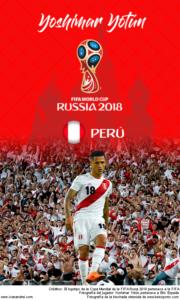 Wallpaper de Yoshimar Yotún de Perú para la Copa Mundial de la FIFA - Rusia 2018 - Edición para teléfonos con resolución 480x800