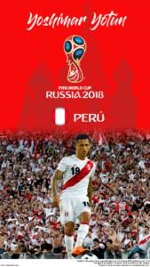 Wallpaper de Yoshimar Yotún de Perú para la Copa Mundial de la FIFA - Rusia 2018 - Edición para teléfonos HD (720x1280)