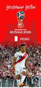 Wallpaper de Yoshimar Yotún de Perú para la Copa Mundial de la FIFA - Rusia 2018 - Edición para iPhone X (1125x2436)