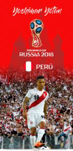 Wallpaper de Yoshimar Yotún de Perú para la Copa Mundial de la FIFA - Rusia 2018 - Edición para Samsung S9 (1440x2960)