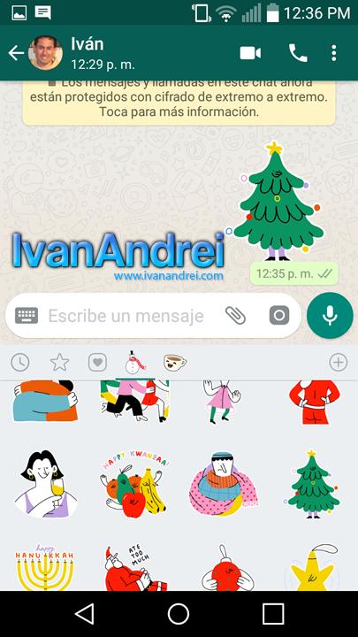 Descargar Sticker navideños
