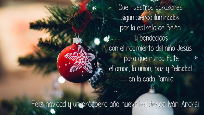 feliz navidad y un prospero ano nuevo 2019 ivan andrei feliz navidad y un prospero ano nuevo