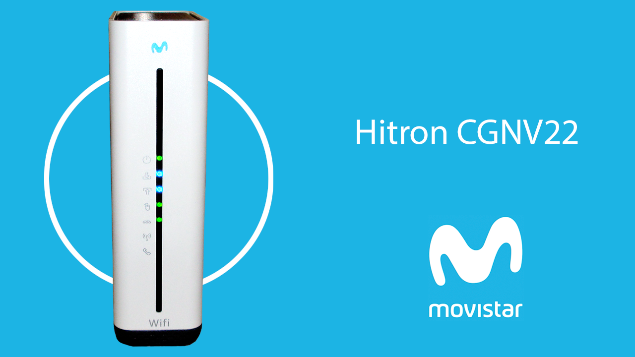 Movistar Cable Modem hitron cgnv22