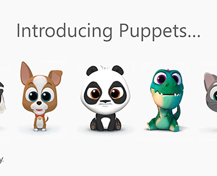 SwiftKey Puppets